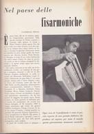 (pagine-pages)LE FISARMONICHE DI CASTELFIDARDO  Le Vied'italia1955/03. - Libri, Riviste, Fumetti