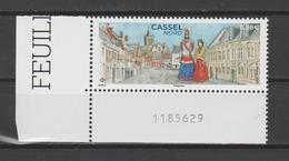 FRANCE / 2019 / Y&T N° 5336 ** : Cassel (Nord) CdF Inf G - Gomme D'origine Intacte - France