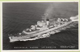 ESCORTEUR RAPIDE   LE GASCON   / Photo Marius Bar, Toulon / Marine - Bateaux - Guerre - Militaire - Guerre
