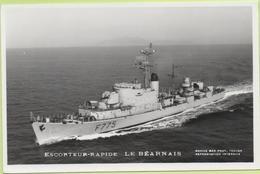 ESCORTEUR RAPIDE   LE BEARNAIS   / Photo Marius Bar, Toulon / Marine - Bateaux - Guerre - Militaire - Guerre