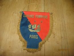 Fanion ( Grand Modèle) 8e Compagnie Des Sapeurs Pompiers De Paris (fr80) - Pompiers