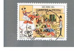 ITALIA REPUBBLICA  -   2008  CORRIERE DEI PICCOLI     -   USATO  ° - 6. 1946-.. Repubblica