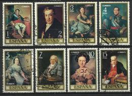 Espagne 1973   Série Lopez Y&T N° 1801-1808  Oblitérés - 1971-80 Oblitérés