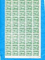 CHINA SOUTH-SUD-4 Feuilles Complètes De 50 Stamps Neufs-sans Gomme D'origine=200 Stamps N°1.+ 2+3+4 - China