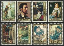 Espagne 1974   Série Rosalès Y&T N° 1858-1865  Oblitérés - 1971-80 Oblitérés
