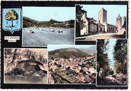 Cpsm - St-Pons - Multi Vues - - Saint-Pons-de-Mauchiens
