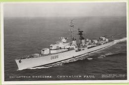 ESCORTEUR D'ESCADRE   CHEVALIER  PAUL   / Photo Marius Bar, Toulon / Marine - Bateaux - Guerre - Militaire - Guerre