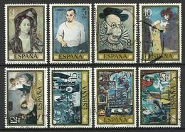 Espagne 1978   Série Picasso  Y&T N° 2127-2134  Oblitérés - 1971-80 Oblitérés