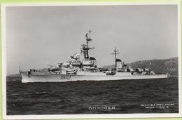 GUICHEN   / Photo Marius Bar, Toulon / Marine - Bateaux - Guerre - Militaire - Guerra