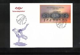 Iceland / Island 2006 Wrestling FDC - Ringen