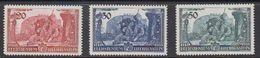 Liechtenstein 1939  Huldigung Fürst Franz Josef II 3v ** Mnh (43303I) - Liechtenstein