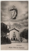 Santino Antico Madonna Notre Dame De Guerison Da Courmayeur - Aosta - Religion & Esotérisme