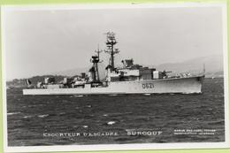 ESCORTEUR D'ESCADRE   SURCOUF   / Photo Marius Bar, Toulon / Marine - Bateaux - Guerre - Militaire - Guerre