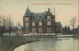 Le Chateau De Loupoigne :   Environs De Genappe    ( Ecrit 1911 Avec Timbre )  Carte MARCOVICI - Genappe