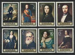Espagne 1977   Série Madrazo  Y&T N° 2075-2082 ** MNH - 1931-Aujourd'hui: II. République - ....Juan Carlos I