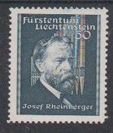 Liechtenstein 1939 Josef Rheinberger 1v ** Mnh (43303M) - Unused Stamps