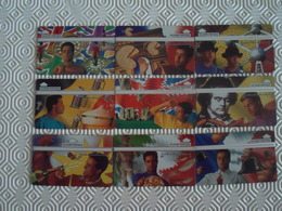 """SERIE OF 9 OPTICAL CARDS PORTUGAL """" PEDRO LAMY"""" - NEW/NOT USED - Portugal"""