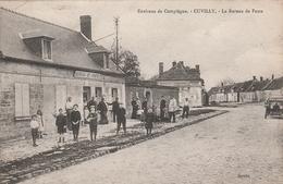 60 Cuvilly. Le Bureau De Poste - Other Municipalities