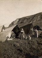 GYPSY GITANO ZIGEUNER TENTS NEAR AZAZIA BOBROWSKA   17*12CM Fonds Victor FORBIN 1864-1947 - Sin Clasificación