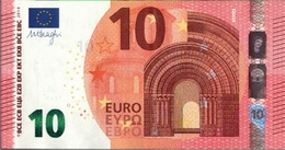 ! 10 Euro Currency, Money, Geldschein, Banknote , F002D4, Mario Draghi, EZB, ECB, Europäische Zentralbank - EURO