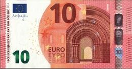 ! 10 Euro Currency, Money, Geldschein, Banknote , F002D3, Mario Draghi, EZB, ECB, Europäische Zentralbank - EURO