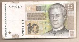 Croazia - Banconota Circolata Da 10 Kune P-38b - 2012 - Croazia