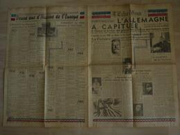L ECHO D ORAN 8 MAI 1945 45 HONNEUR ET PATRIE L ALLEMAGNE A CAPITULE - Journaux - Quotidiens