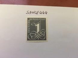 Germany Definitive Numeral 1955 Mnh #ab - [7] Federal Republic