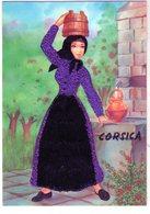 Cpsm - Corsica - La Femme à La Fontaine - - Costumes