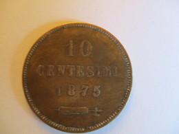 San Marino 10 Centesimi 1875 - Saint-Marin