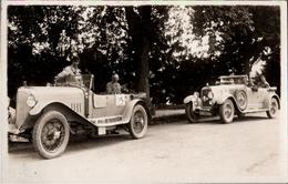 ! Seltene Alte Fotokarte, Photograph Jungmann & Schorn Baden-Baden, Automobilrennen Baden Württemberg ?, Oldtimer, Cars - Voitures De Tourisme