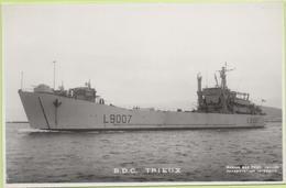B.D.C   TRIEUX   / Photo Marius Bar, Toulon / Marine - Bateaux - Guerre - Militaire - Guerre