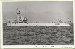 E.D.I.C   L 9073   1968   / Photo Marius Bar, Toulon / Marine - Bateaux - Guerre - Militaire - Warships