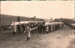 !   Seltenes Foto , Photokarte, Ruder Club Havel Aus Brandenburg, Rudern, Rowing, Sport, Eisenbahn - Eisenbahnen
