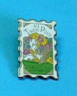 1 PIN'S //  ** AU TIMBRE POSTE / RESTO / PUB ** - Bière