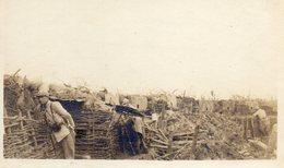 Photo  Entonnoire De Maunoury Coté Gauche Au Plateau De Nouvron-Vingré Voir Légende Aisne Ww1 - 1914-18