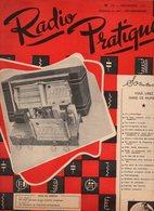 Radio Pratique N°12 La Cybernétique - Tube D'iode Défectueux - Les Récepteurs De Luxe - Les Bruits à La Radio De 1951 - Basteln