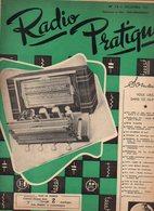 Radio Pratique N°13 Ampli BF Push Pull 5 Watts - Un Récepteur De Haut Luxe - La Table Robert Houdin De 1951 - Basteln