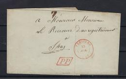 VOORLOPER UIT 1847 VERZONDEN NAAR SPA - 1830-1849 (Belgique Indépendante)