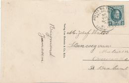 295/29 - Carte-Vue AACHEN TP Houyoux POSTES MILITAIRES 1 En 1928 Vers OVERYSSCHE - Postmark Collection