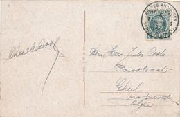 296/29 - Carte-Vue BONN TP Houyoux POSTES MILITAIRES 1 En 1927 Vers GHEEL - Postmark Collection