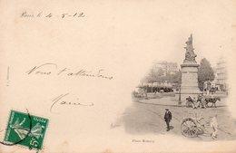 Paris - Place Moncey - Plazas