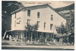 CPA - LA BEAUME (Hautes Alpes) - Hôtel De La Poste - Other Municipalities