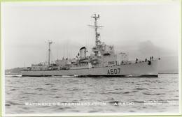 BATIMENT D'EXPERIMENTATION   ARAGO   / Photo Marius Bar, Toulon / Marine - Bateaux - Guerre - Militaire - Warships