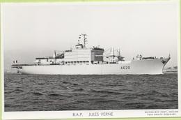 B.A.P.   JULES VERNE   / Photo Marius Bar, Toulon / Marine - Bateaux - Guerre - Militaire - Warships