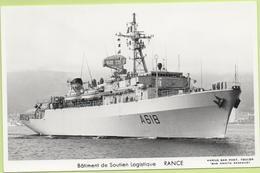 Bâtiment De Soutien Logistique   RANCE   / Photo Marius Bar, Toulon / Marine - Bateaux - Guerre - Militaire - Warships