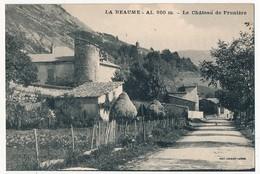 CPA - LA BEAUME (Hautes Alpes) - Le Château De Prunière - Other Municipalities