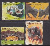 2015 Botswana African Buffalo Complete Set Of 4  MNH - Botswana (1966-...)