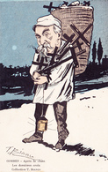 CPA Caricature Satirique Politique COMBES La Dernière Croix Anti-Clérical Illustrateur T. BIANCO. (2 Scans) - Illustratori & Fotografie