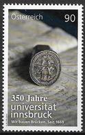 2019 Austria Österreich Mi. 3443**MNH 350 Jahre Universität Innsbruck. - 2011-... Unused Stamps